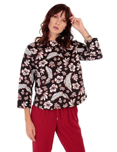 Blusa con diseño gráfico Tommy Hilfiger algodón 6dcf5413636fe