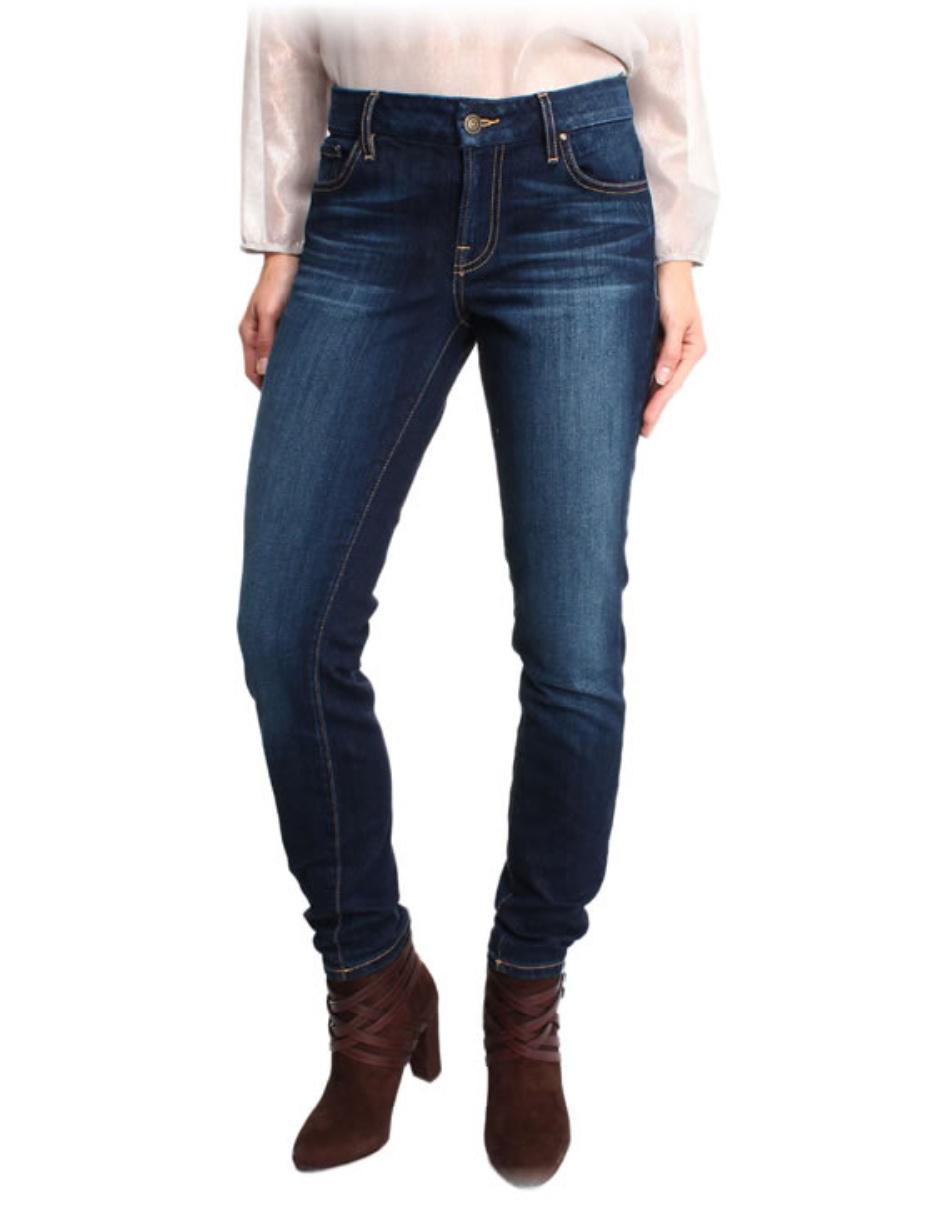 Jeans Skinny Guess Power Curvy Mid Corte Media Cintura En Liverpool