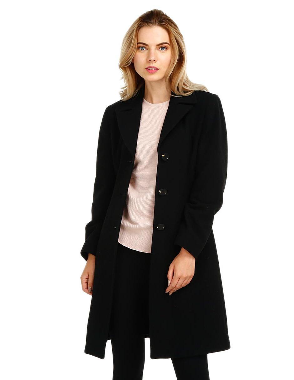 Abrigo negro ivonne