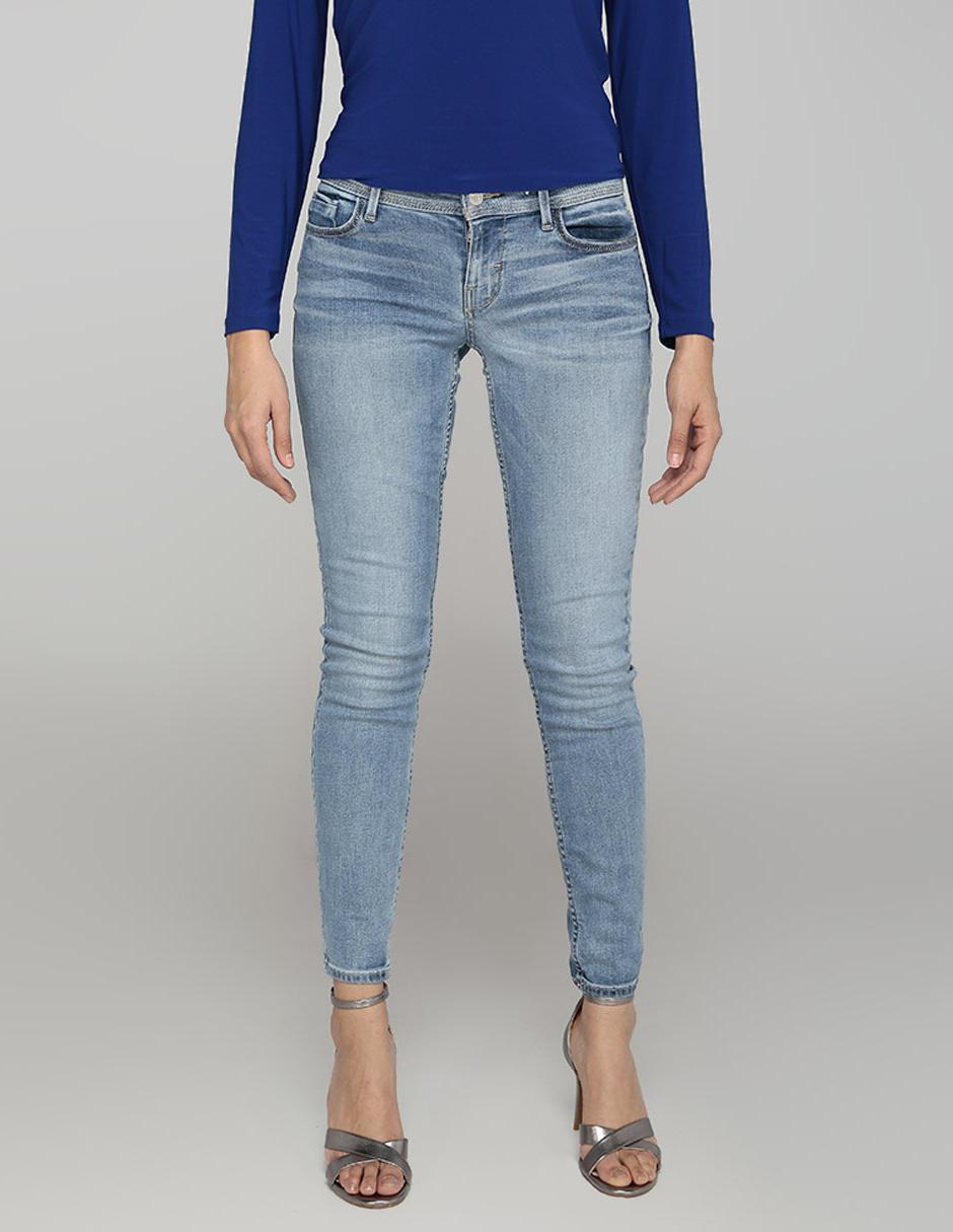 Jeans Guess Corte Skinny Azul En Liverpool
