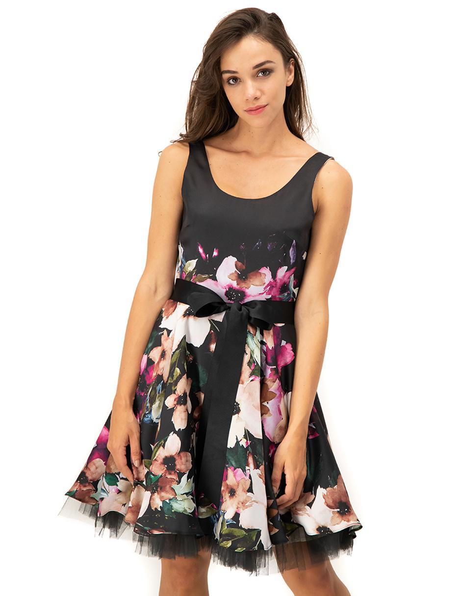Vestido Ivonne Petite Bugambilia Floral