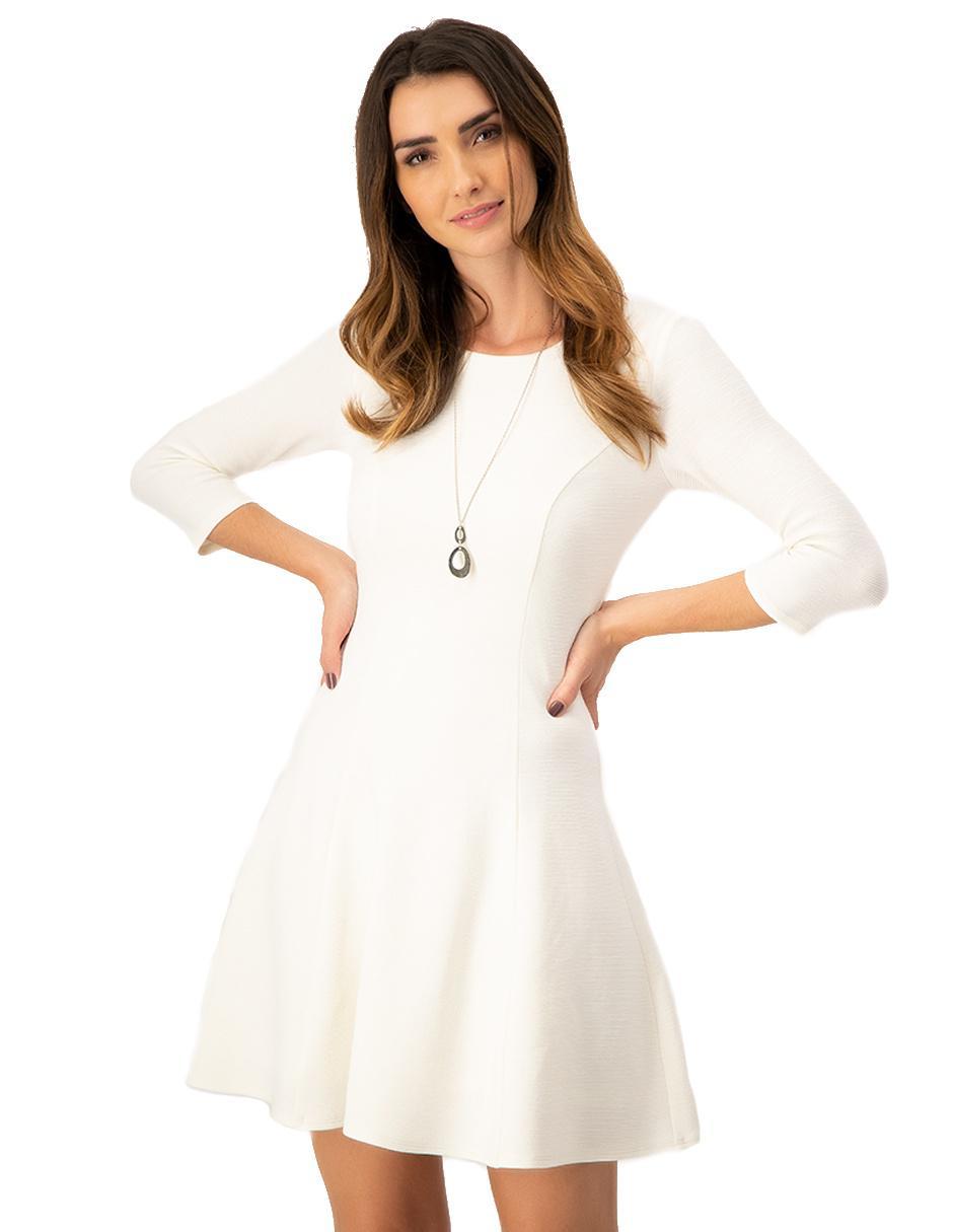 Vestido Ivonne Marfil Casual