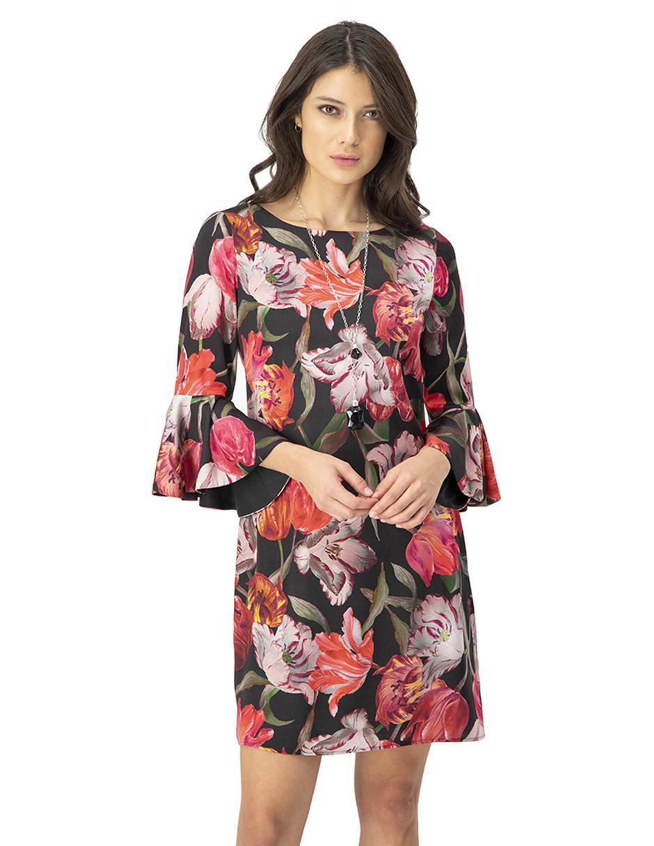 Vestido Ivonne Con Diseño Floral Casual