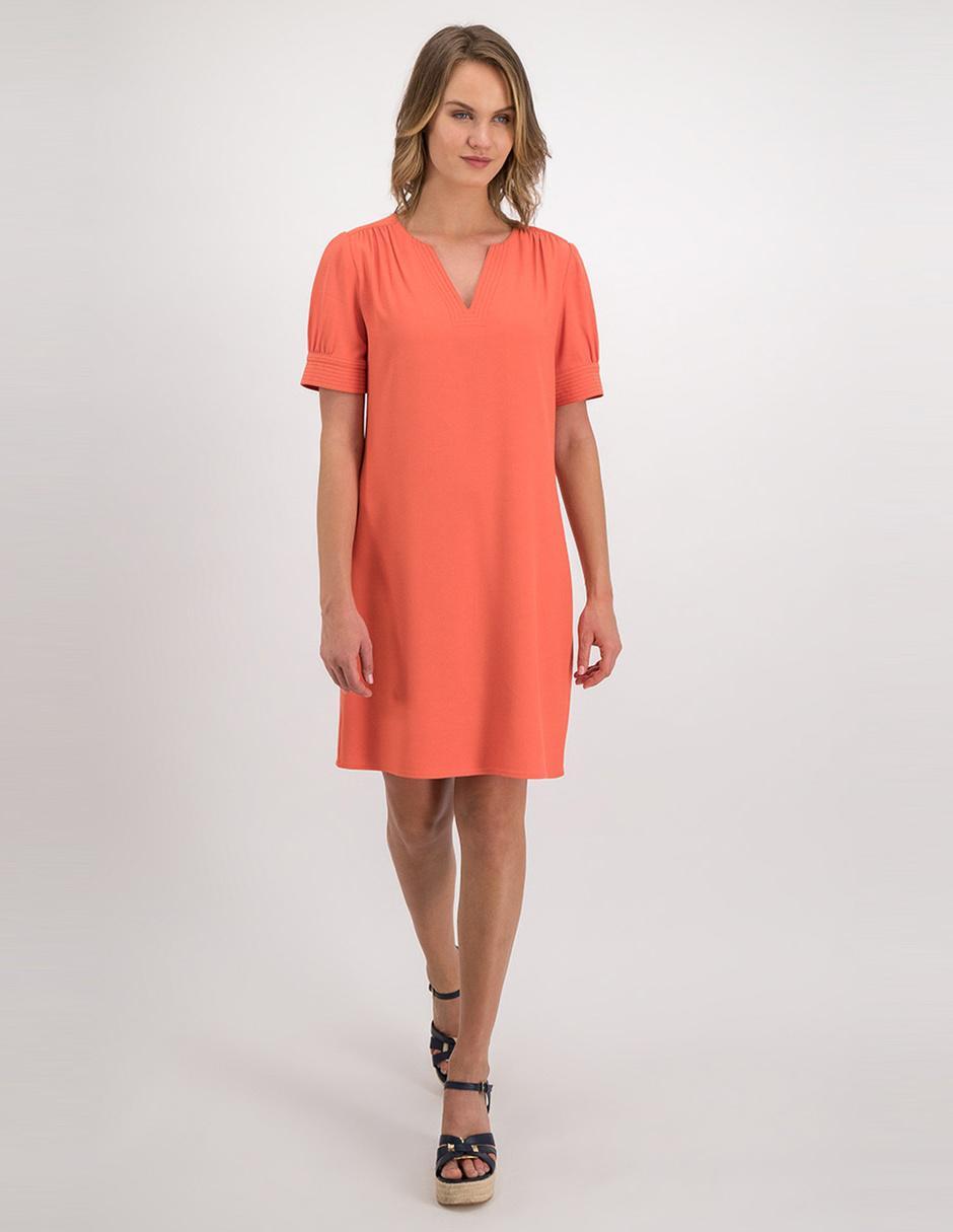 Vestido Casual Julio Naranja En Liverpool