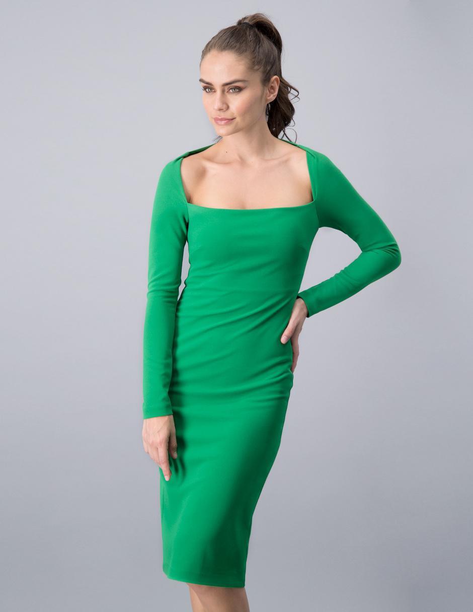 Vestido Formal Martha Debayle By Ivonne Verde