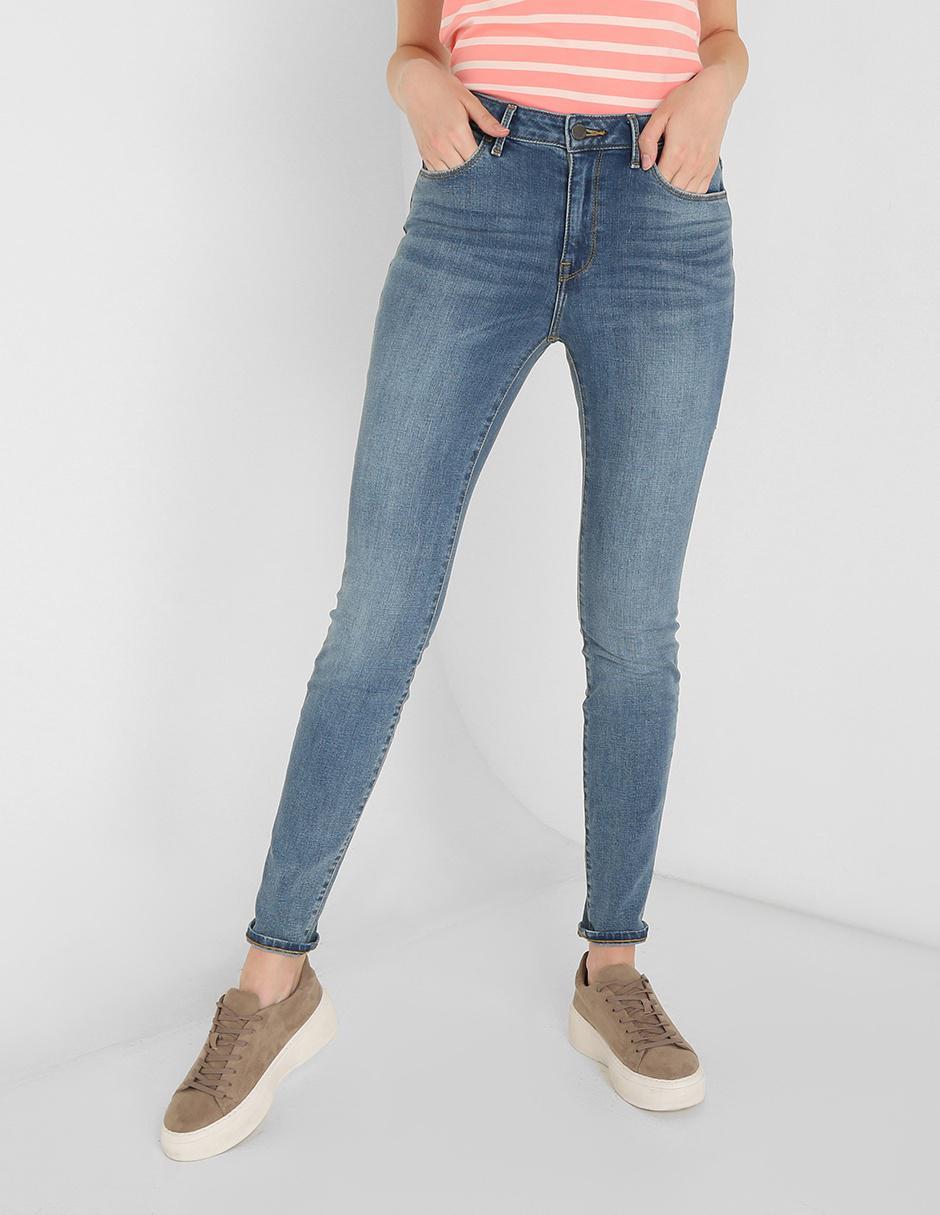 Jeans Tommy Hilfiger Corte Skinny Azul En Liverpool